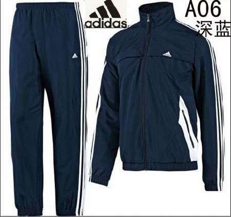 pantalon survetement homme bleu adidas